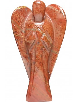 """Red Jasper Healing Crystal Natural Energized Chakra Reiki Red Angel (3"""" Inches)"""