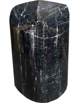 Black Tourmaline Polished Healing Crystal Tower Stone (309 Gram)