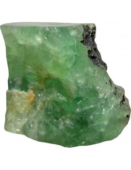 Green Fluorite Healing Crystal Raw/Rough Stone (294 Gram)