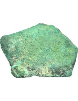 Malachite Healing Crystal Raw/Rough Stone (299 Gram One Side Polished)