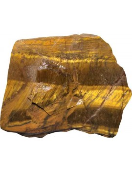 Tiger Eye Healing Crystal Raw/Rough Stone (153 Gram)