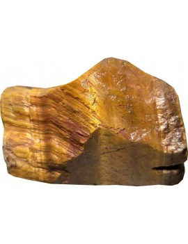 Tiger Eye Healing Crystal Raw/Rough Stone (160 Gram)